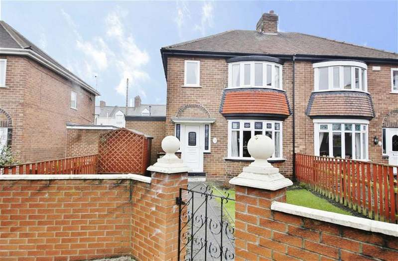 3 Bedrooms Semi Detached House for sale in Ferndene Crescent, Pallion, Sunderland, SR4