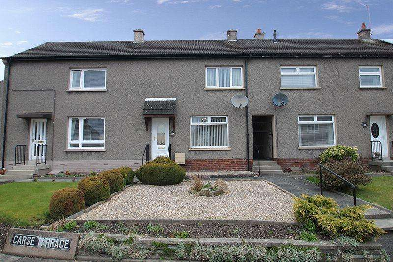 2 Bedrooms Terraced House for sale in Carse Terrace, Alloa