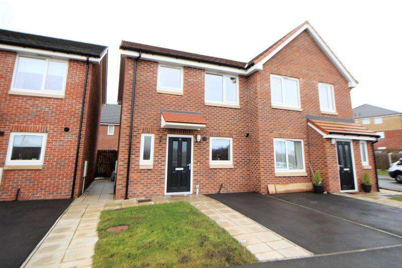 2 Bedrooms Semi Detached House for sale in Sunflower Close, Wirral