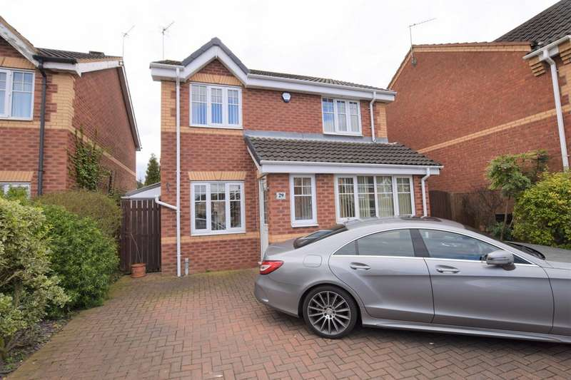 4 Bedrooms Detached House for sale in Westminster Drive, Dunsville DN7
