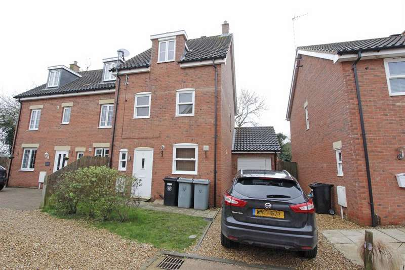 4 Bedrooms Detached House for sale in Beck Way, Thurlby