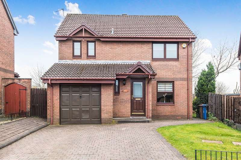 4 Bedrooms Detached House for sale in Swords Way, Falkirk, FK2