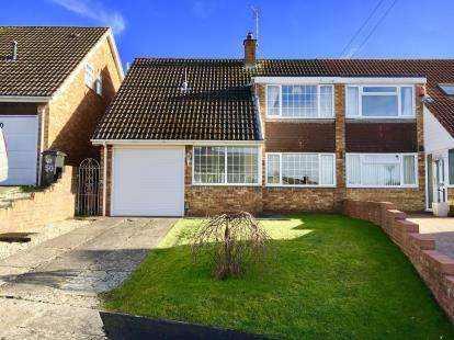 3 Bedrooms Semi Detached House for sale in Clayfield Road, Brislington, Bristol