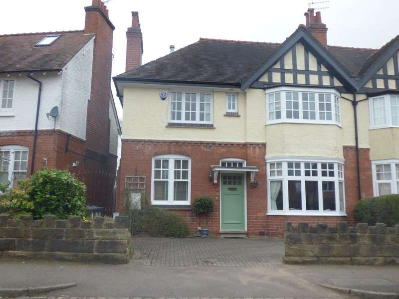 4 Bedrooms Semi Detached House for sale in Crosbie Road, Harborne, Birmingham, West Midlands, B17 9BG