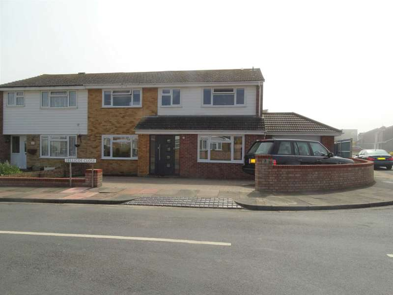 5 Bedrooms Semi Detached House for sale in Jellicoe Close, Eastbourne