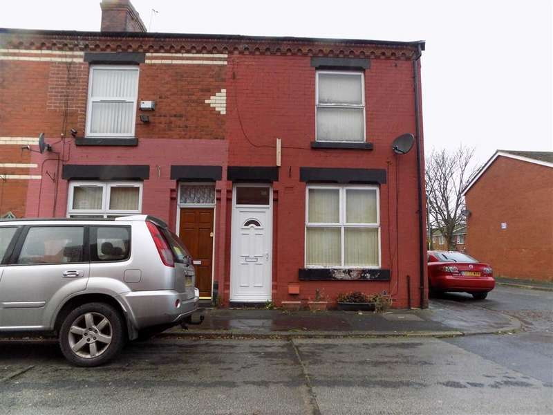 2 Bedrooms End Of Terrace House for sale in Burtinshaw Street, Manchester