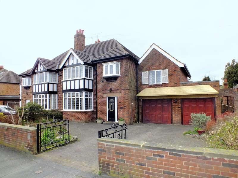 4 Bedrooms Semi Detached House for sale in Whinmoor Gardens, Leeds, West Yorkshire, LS14 1AF