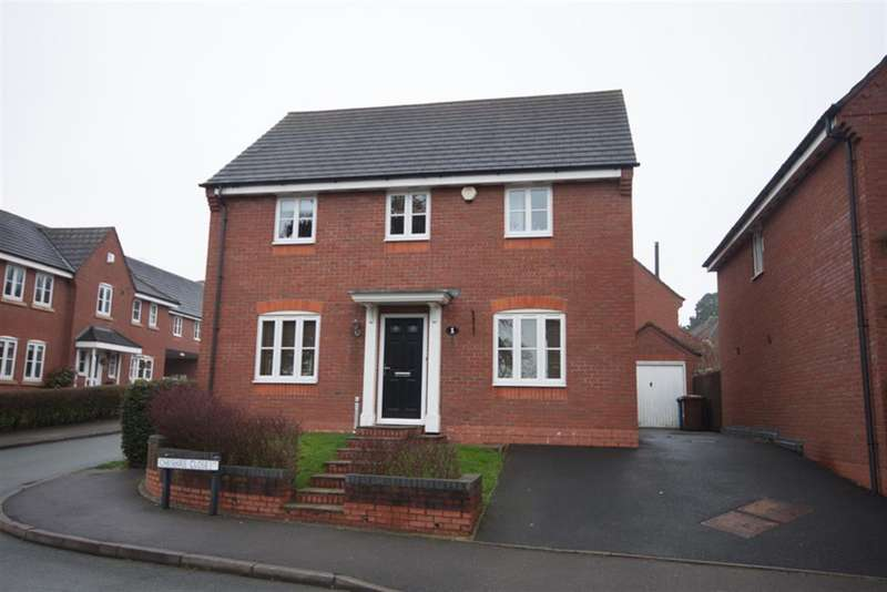4 Bedrooms Detached House for sale in Cheshire Close, Burntwood, WS7 9QX