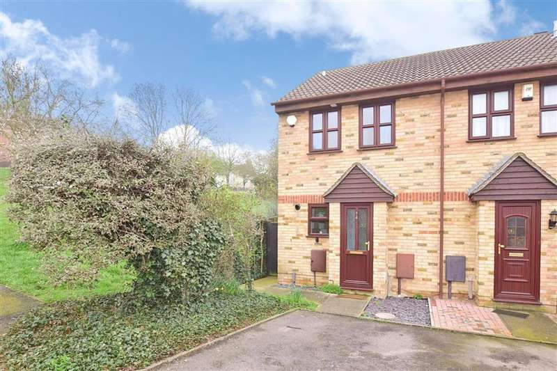 2 Bedrooms End Of Terrace House for sale in Dongola Road, Strood, Rochester, Kent