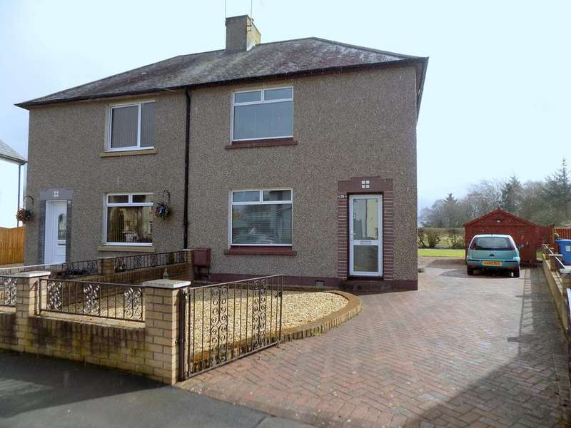 2 Bedrooms Semi Detached House for sale in Elphinstone Crescent, Airth FK2