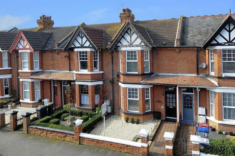 4 Bedrooms Terraced House for sale in Oakdale Road, Herne Bay, Kent