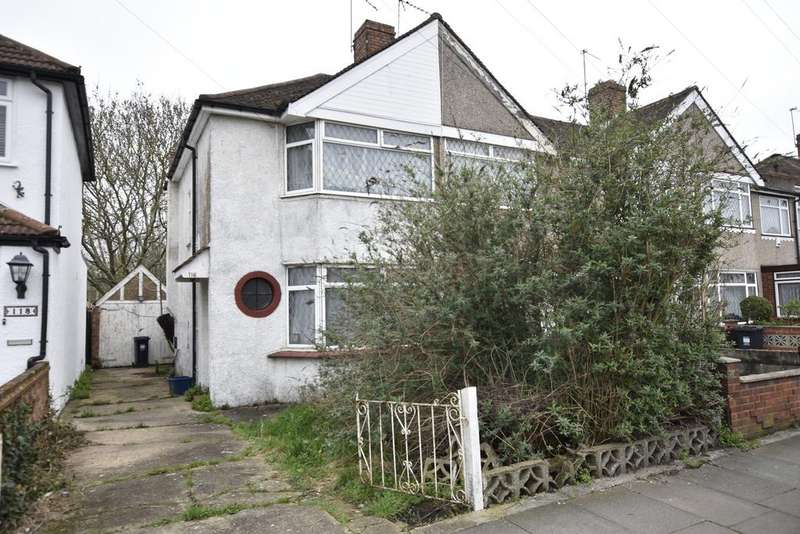 2 Bedrooms End Of Terrace House for sale in Guildford Avenue, Feltham