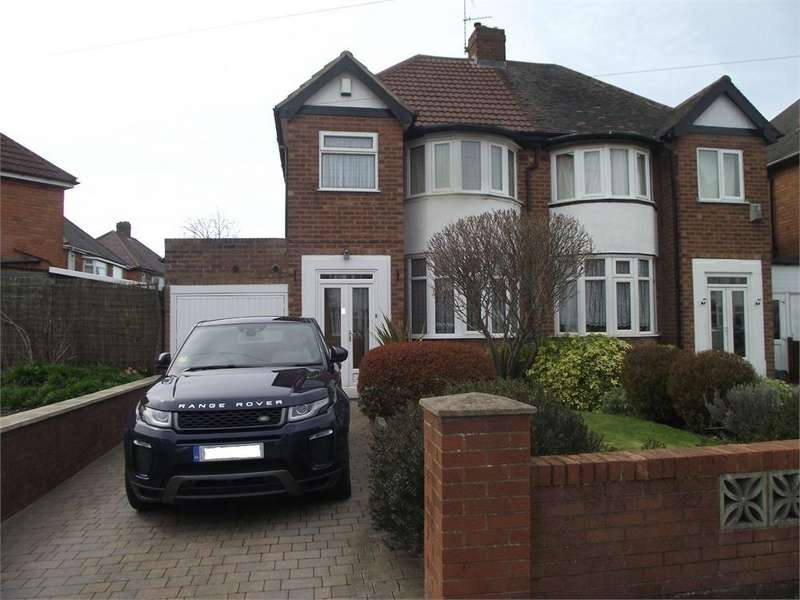3 Bedrooms Semi Detached House for sale in JEREMY GROVE, SOLIHULL