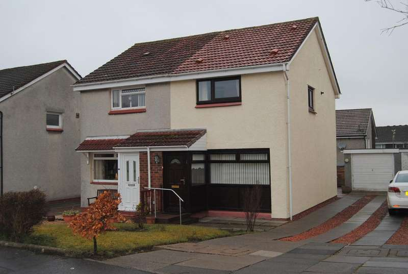 2 Bedrooms Semi Detached House for sale in Lewis Avenue, Wishaw ML2