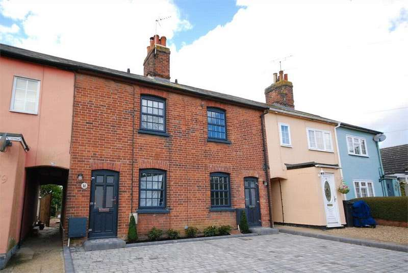 2 Bedrooms Terraced House for sale in Tilkey Road, Coggeshall, Colchester, Essex
