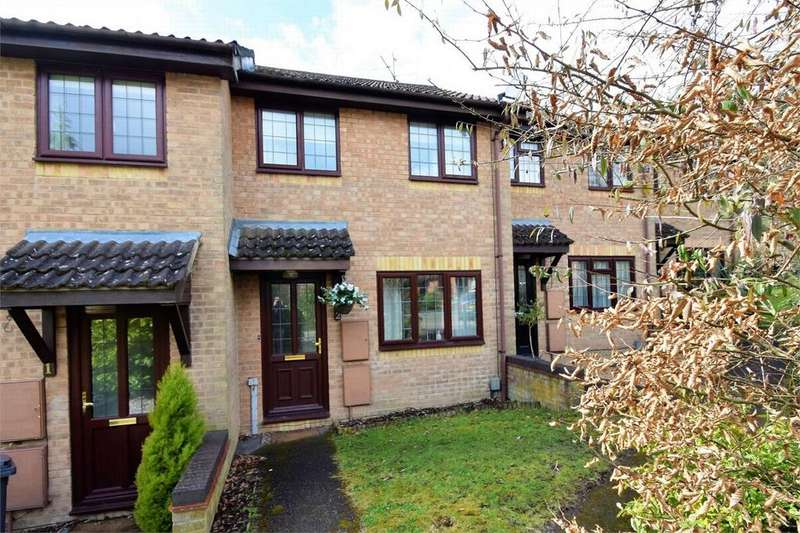 2 Bedrooms Terraced House for sale in Walmer Close, FRIMLEY, Camberley, Surrey