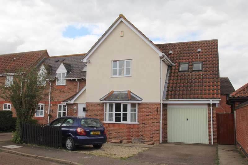 3 Bedrooms End Of Terrace House for sale in Aldeburgh Gardens, Highwoods