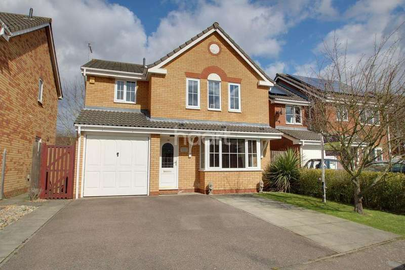 4 Bedrooms Detached House for sale in Crown Mill, Elmswell
