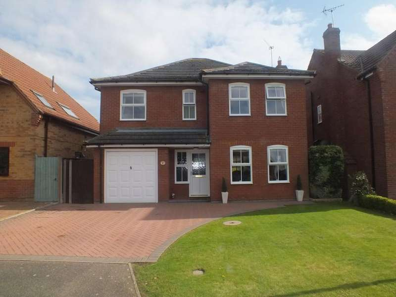 4 Bedrooms Detached House for sale in Lavender Drive, Spalding