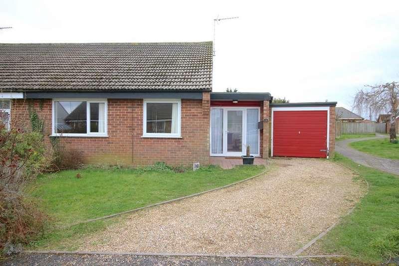 2 Bedrooms Semi Detached Bungalow for sale in Garden Close, Shotley