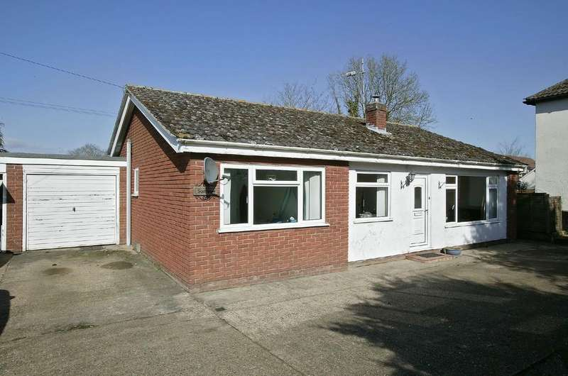 3 Bedrooms Detached Bungalow for sale in Watton Road, Shropham