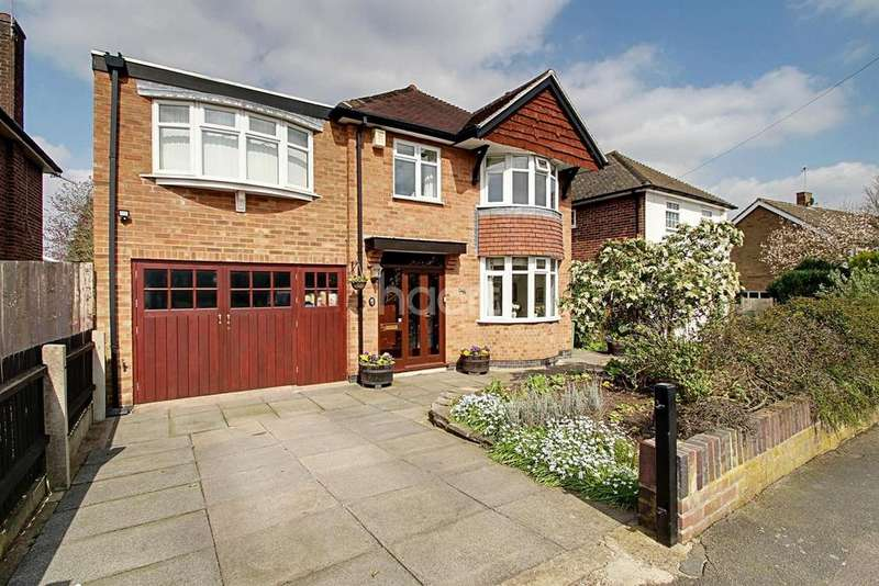 4 Bedrooms Detached House for sale in Glenfield Frith Drive, Glenfield, Leicester