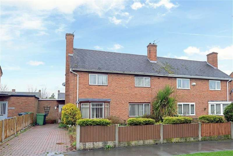 3 Bedrooms Semi Detached House for sale in Field Crescent, Sundorne, Shrewsbury, Shropshire