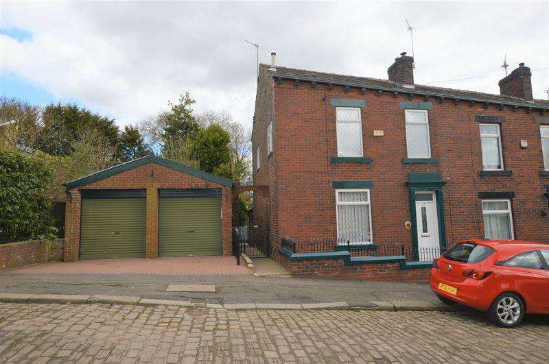 3 Bedrooms End Of Terrace House for sale in Millgate, Rochdale OL16 2NU