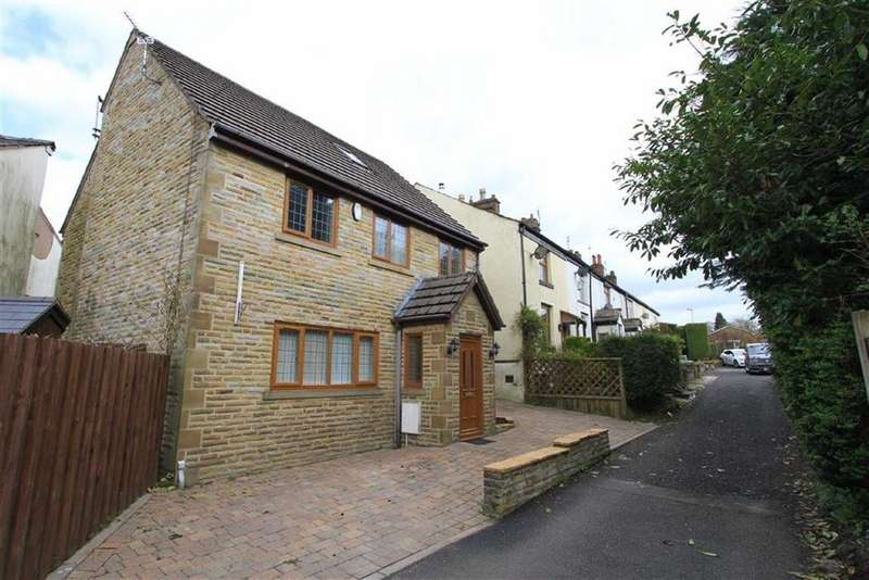 4 Bedrooms Detached House for sale in Sandhole Cottage, 3, Sandhole Lane, Bamford, Rochdale, OL11