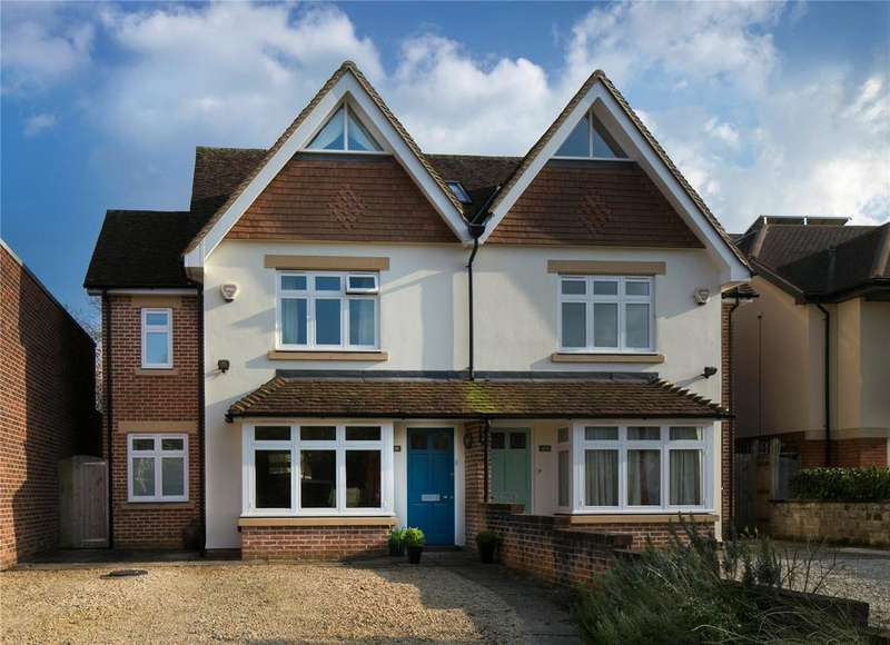 4 Bedrooms Semi Detached House for sale in Blandford Avenue, Oxford, OX2