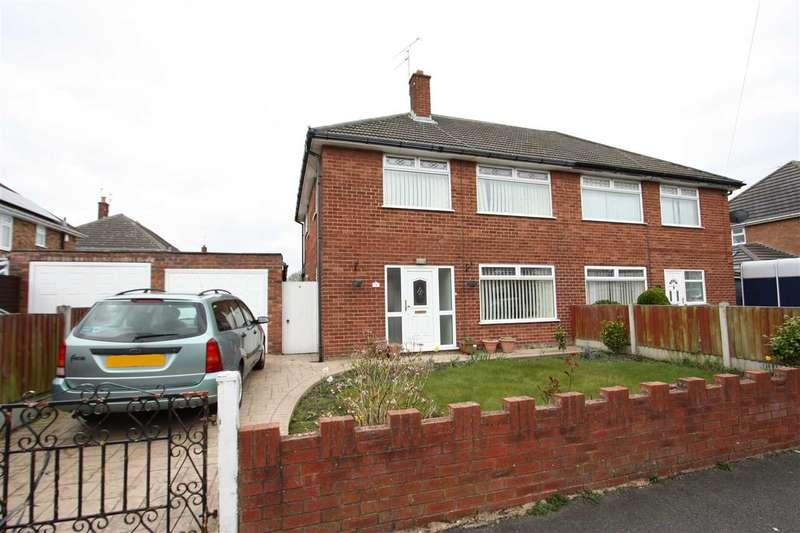 3 Bedrooms Semi Detached House for sale in Beechcroft Drive, Ellesmere Port