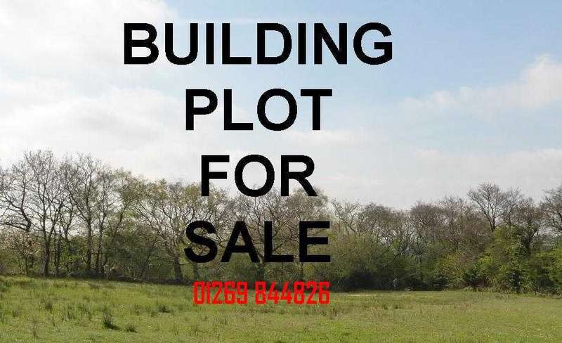 Plot Commercial for sale in Building Plot, Adjacent to Rosevale, Heol Hirwaun Olau, TUMBLE, Llanelli