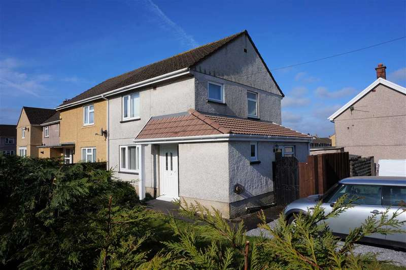 3 Bedrooms Semi Detached House for sale in Rhosnewydd, TUMBLE, Llanelli