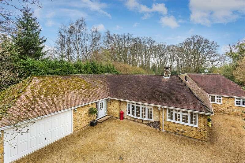 4 Bedrooms Detached Bungalow for sale in Ford Road, Bisley, Woking, Surrey, GU24