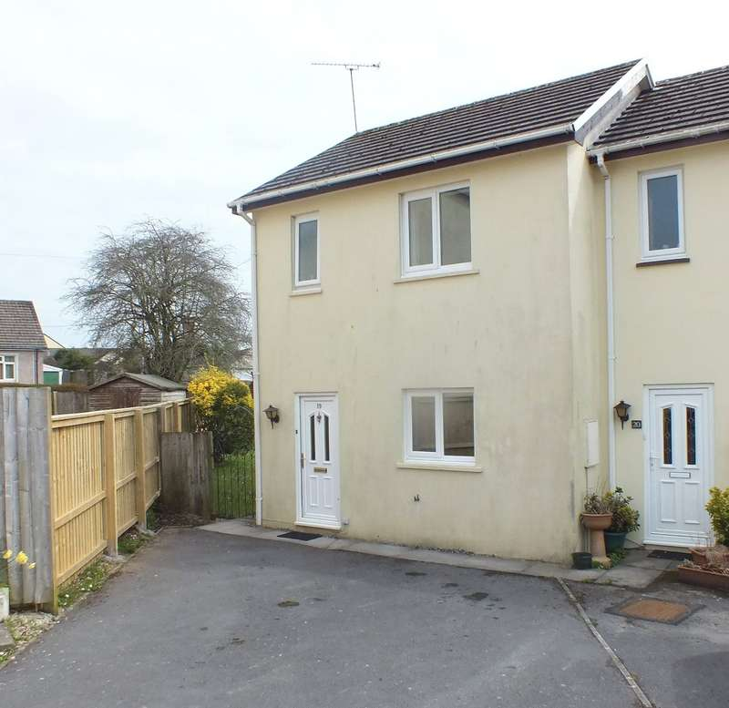 2 Bedrooms Semi Detached House for sale in 19 Park Avenue, Kilgetty, Tenby