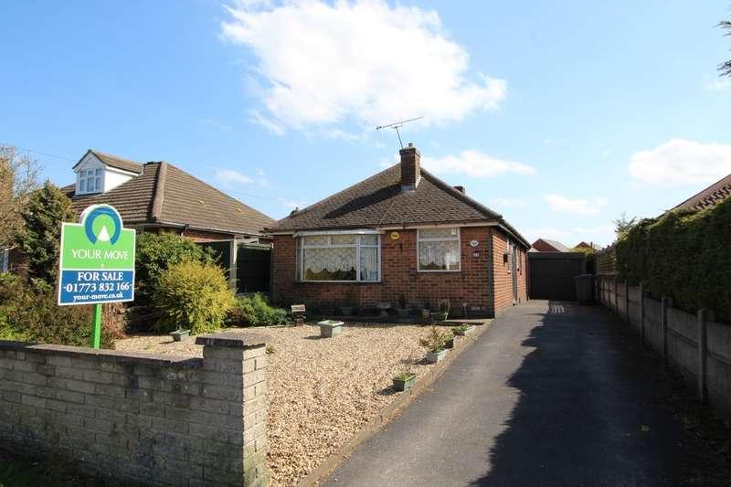 2 Bedrooms Detached Bungalow for sale in Alfreton Road, Newton, Alfreton, DE55
