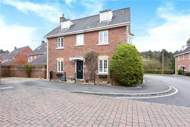 5 Bedrooms Detached House for sale in Turgis Road, Elvetham Heath, Hampshire