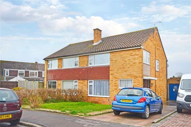 3 Bedrooms Semi Detached House for sale in Holford Road, Bridgwater, Somerset, TA6