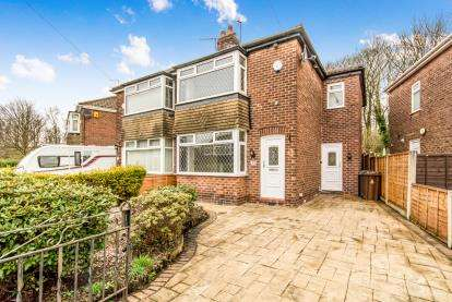 3 Bedrooms Semi Detached House for sale in Kingston Gardens, Hyde, Greater Manchester, United Kingdom