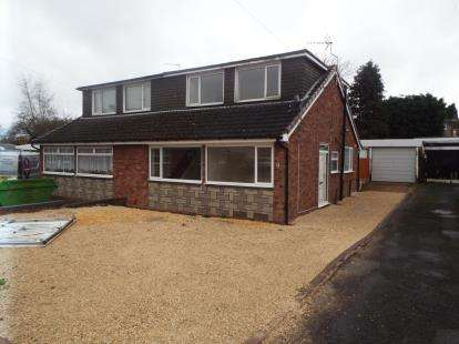 3 Bedrooms Semi Detached House for sale in Balmoral Drive, Hednesford, Cannock, Staffordshire