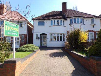 3 Bedrooms Semi Detached House for sale in Garretts Green Lane, Birmingham, West Midlands