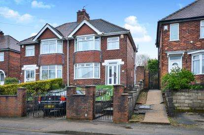 3 Bedrooms Semi Detached House for sale in Quarrydale Road, Sutton-In-Ashfield, Nottinghamshire, .
