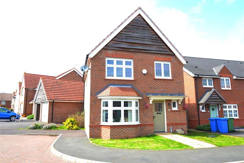 3 Bedrooms Detached House for sale in Aster Drive, Stafford