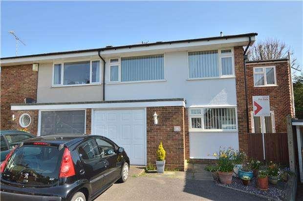 4 Bedrooms Semi Detached House for sale in Regent Crescent, REDHILL, RH1 1JN