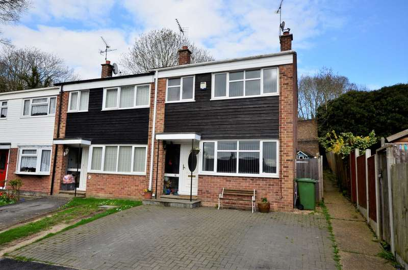 3 Bedrooms End Of Terrace House for sale in Hatfield Drive, Billericay