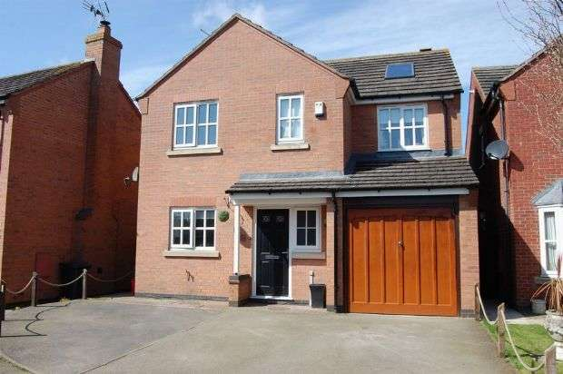 4 Bedrooms Detached House for sale in Cox's Close, Long Buckby, Northampton NN6 7GH