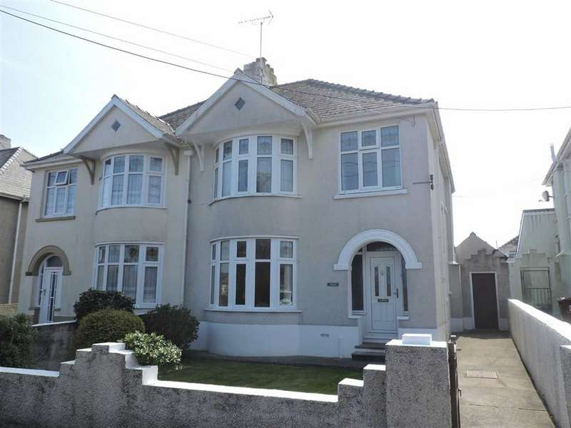 3 Bedrooms Semi Detached House for sale in Sladeway, Fishguard