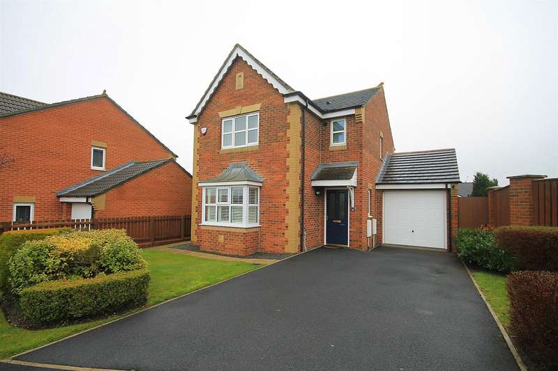3 Bedrooms Detached House for sale in Ellerby Mews, Thornley, Durham