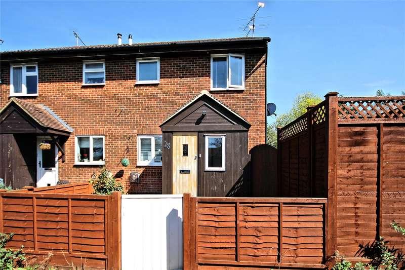 1 Bedroom Semi Detached House for sale in Blencarn Close, Woking, Surrey, GU21