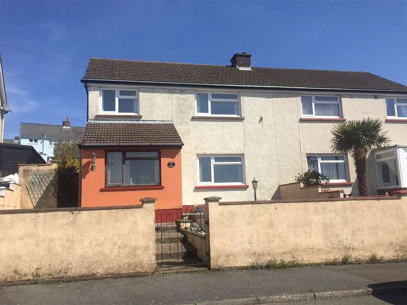 3 Bedrooms Semi Detached House for sale in Trinity Place, Neyland, Milford Haven